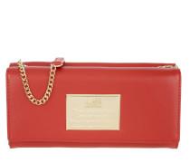 Wallet Umhängetasche Red Portemonnaie