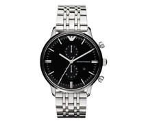 Uhren Men's Chronograph Stainless Steel Watch