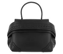 Wave Shoulder Bag Mini Nero Umhängetasche
