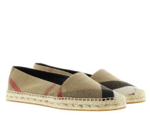Espadrilles Hodgeson Check Jute Cotton