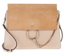 Faye Shoulder Bag Smooth Cement Pink Umhängetasche