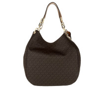Tasche - Fulton LG Shoulder Tote Brown - in braun - Henkeltasche für Damen