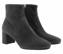 Calzature Donna Camoscio Stretch Antracite Schuhe
