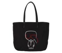Shopper K/Ikonik Canvas Black