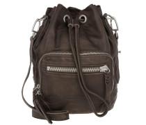 Shibata Slouchy Bag Greyish Hobo braun