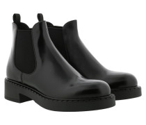 Boots Bootie Leather Nero
