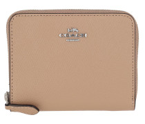 Portemonnaie Small Zip Around Wallet Taupe