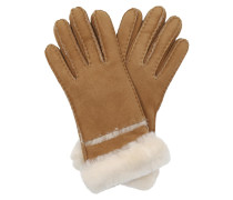 Handschuhe Seamed Gloves Chestnut