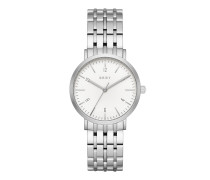 Armbanduhr - Ladies Minetta Stainless Steel Watch Silver