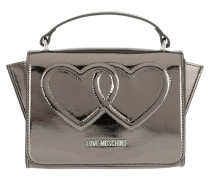 Metallic Umhängetasche Bag Heart Fucile