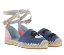 Flirting Espadrilles Shaded Navy blau