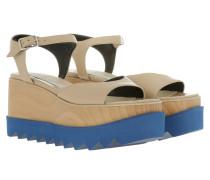 Elyse Plattform Sandale Nude Sandalen