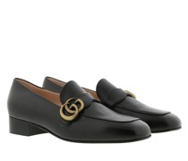 Schuhe Double G Loafers Leather Black