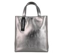 Tote Paper Bag S Silver Lead