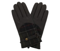 Handschuhe Dee Tartan Gloves Dark Brown