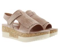 Tropez Plateau Sandal Crosta New Nude Sandalen