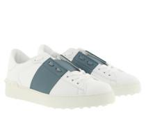 Sneakers Open Calfskin Bianco Amadeus
