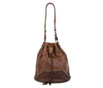 Tasche - Secchiello Rivetti Vacchetta Bucket Bag Cognac