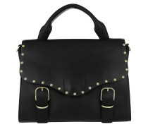 Biker Doctor Bag Black Satchel