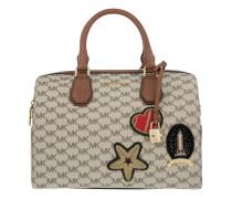 Tasche - Patches Mercer Duffle Bag Natural/Luggage - in beige - Henkeltasche für Damen