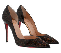 Galupump 100 Pumps Patent/Glitter Black/Gold