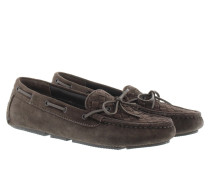 Loafers & Slippers - Driver Mocassin Suede Espresso