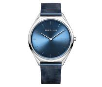 Uhr Watch Ultra Slim Uni Blue