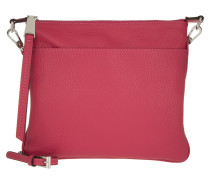 Tasche - Adria Leather Crossbody Bag Pink