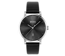 Uhr Men Quartz Watch Confidence Black