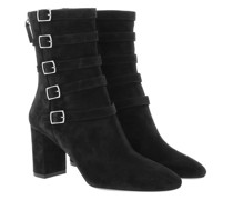 Boots & Stiefeletten Lou Buckle Ankle Suede