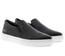 Trey Pointy Slip On Black Schuhe