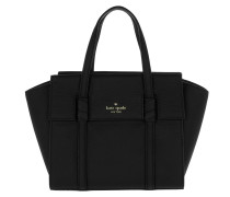 Small Abigail Satchel Bag Black