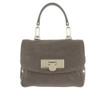 Mini Flap Shoulder Bag Stone Umhängetasche braun