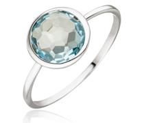 Ring 14K Blue Topaz