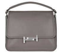 Double T Bag Elephant Grey Satchel