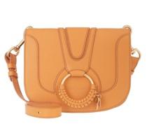 Umhängetasche Hana Medium Crossbody Bag Leather Soft Tan