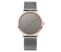 Uhr Watch Classic Women Steel Grey