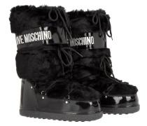 Boots & Booties - Love Moonboot Fake Fur Nero