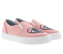 Satin Slip-On Sneakers Sneakerss