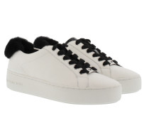 Fashion Poppy Lace Up Optic White/Black Sneakers