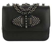 Sweety Charity Mini Chain Bag Black/Gun Metal Umhängetasche
