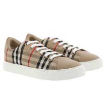 Sneakers Checked Motif Sneaker Archive Beige