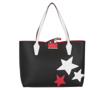 Bobbi Inside Out Tote Black/Red