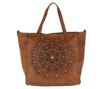 Amamelide Shopping Bag Cognac Umhängetasche