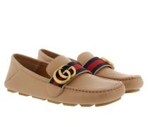 Velvet Calf Loafers Camelia Schuhe