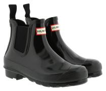 Boots Womens Original Chelsea Gloss Black