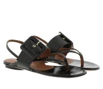 Sandalen Flat Coconut Sandal Black