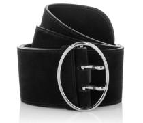 Kleinleder - Suede Belt Black