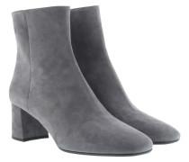 Boots & Booties - Calzature Donna Camoscio Nebbia Grey