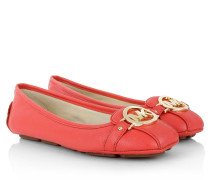 Ballerinas - Fulton Mocassin Leather Watermelon